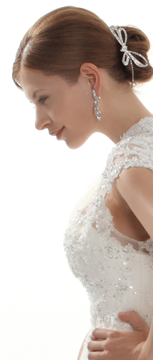 Beautiful Wedding Tiara With Rhinestones Ajtb0288