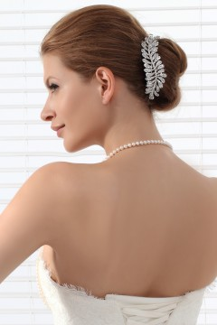 Attractive Wedding Tiara With Rhinestones Ajtb0279