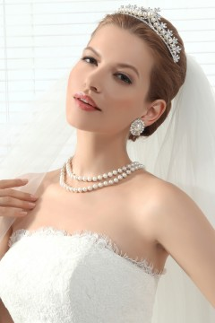 Exquisite Wedding Tiara With Rhinestones Ajtb0278