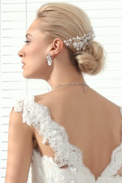 Pageantry Pearl With Rhinestone Wedding Headpiece Ajtb0318Pageantry Pearl With Rhinestone Wedding Headpiece Ajtb0318