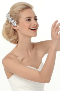 Starry Rhinestones Wedding Headpiece Ajtb0308