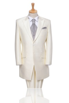 White 2 Buttons Notch Lapel Tuxedo Mt00mm0056