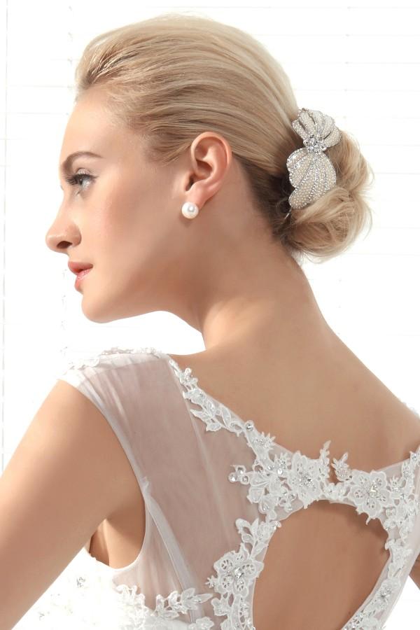 Beautiful Wedding Tiara With Rhinestones Ajtb0269
