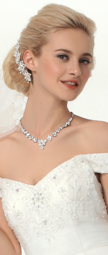 Elegant Rhinestones Wedding Headpiece Ajtb0303