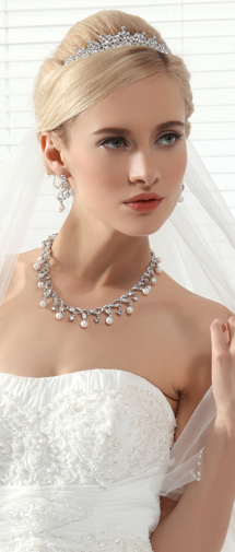 Exquisite Wedding Tiara With Rhinestones Ajtb0275