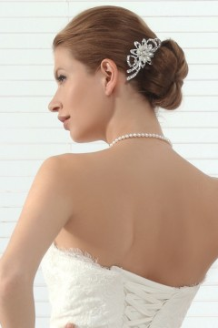 Beautiful Rhinestones Wedding Headpiece Ajtb0302