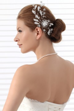 Fashion Rhinestones Wedding Headpiece Ajtb0311