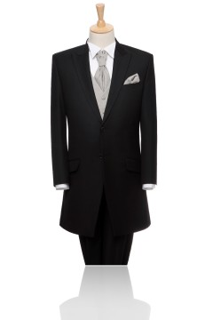 Grey 2 Buttons Peak Lapel Tuxedo Mtkimm0063