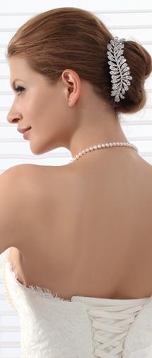 Attractive Wedding Tiara With Rhinestones Ajtb0279