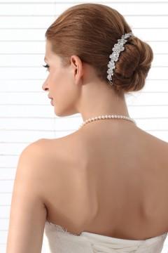 Graceful Wedding Tiara With Rhinestones Ajtb0282