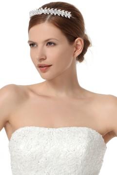 Graceful Wedding Tiara With Rhinestones Ajtb0295