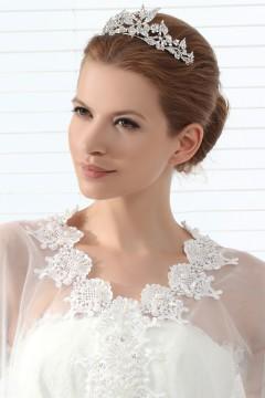 Sparkling Wedding Tiara With Rhinestones Ajtb0283