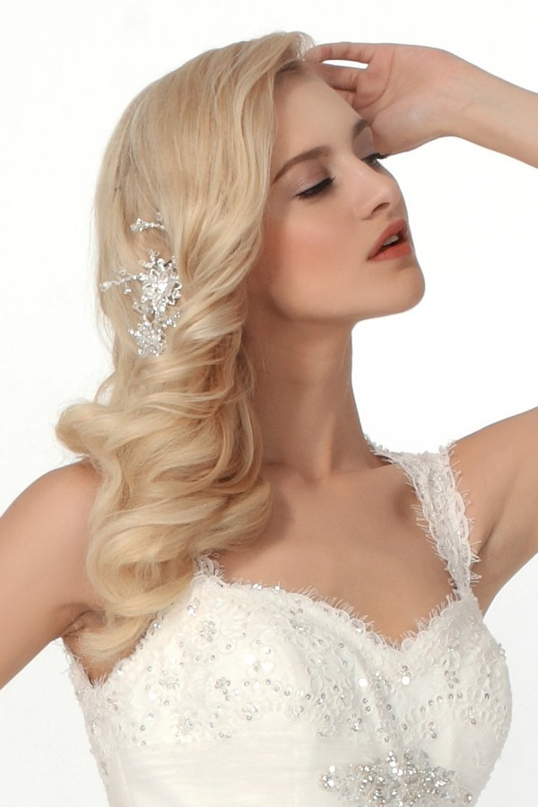 Exquisite Rhinestones Wedding Headpiece Ajtb0314