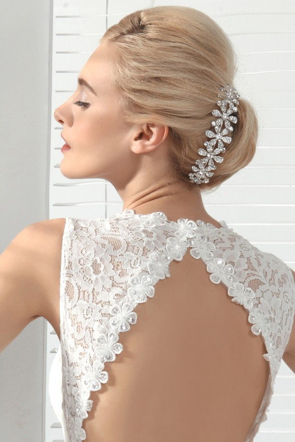 Exquisite Wedding Tiara With Rhinestones Ajtb0276