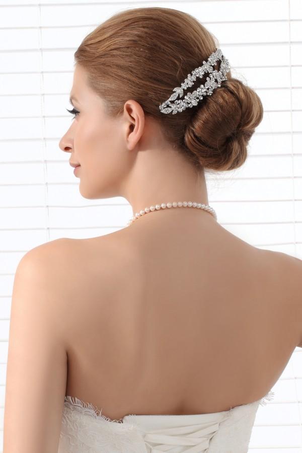Exquisite Wedding Tiara With Rhinestones Ajtb0277