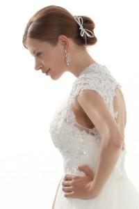 Beautiful Wedding Tiara With Rhinestones Ajtb0288