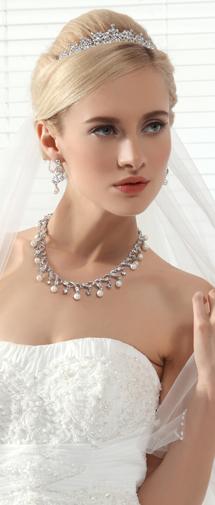 Exquisite Wedding Tiara With Rhinestones Ajtb0275