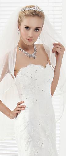 Graceful Wedding Tiara With Rhinestones Ajtb0273