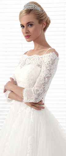 Sparkling Wedding Tiara With Rhinestones Ajtb0271